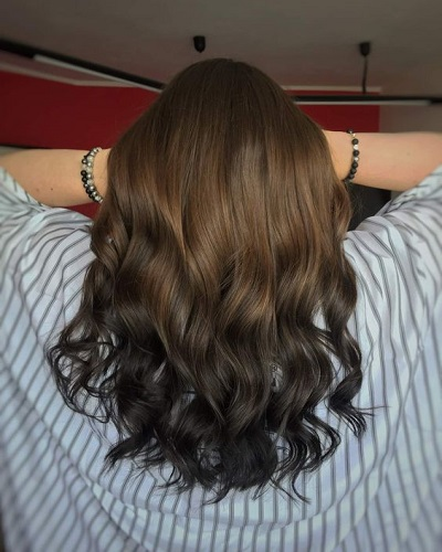 Brown To Black Ombre Hairstyles